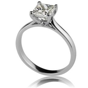 """Legend"" Princess Cut Diamond Ring"