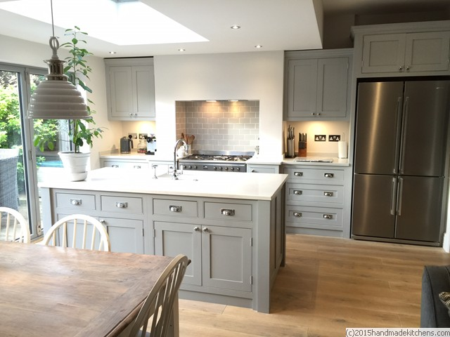 U Shaped Kitchen Design With Island Sherwood