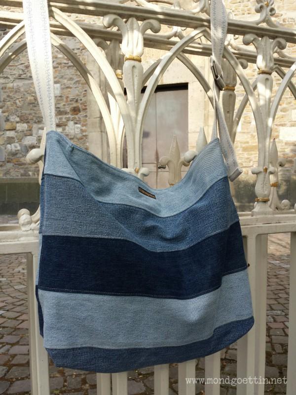Upcycling Tasche Aus Jeans Handmade Kultur