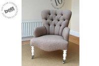 Victoria bedroom chair - Bott Handmade Sofas Ltd