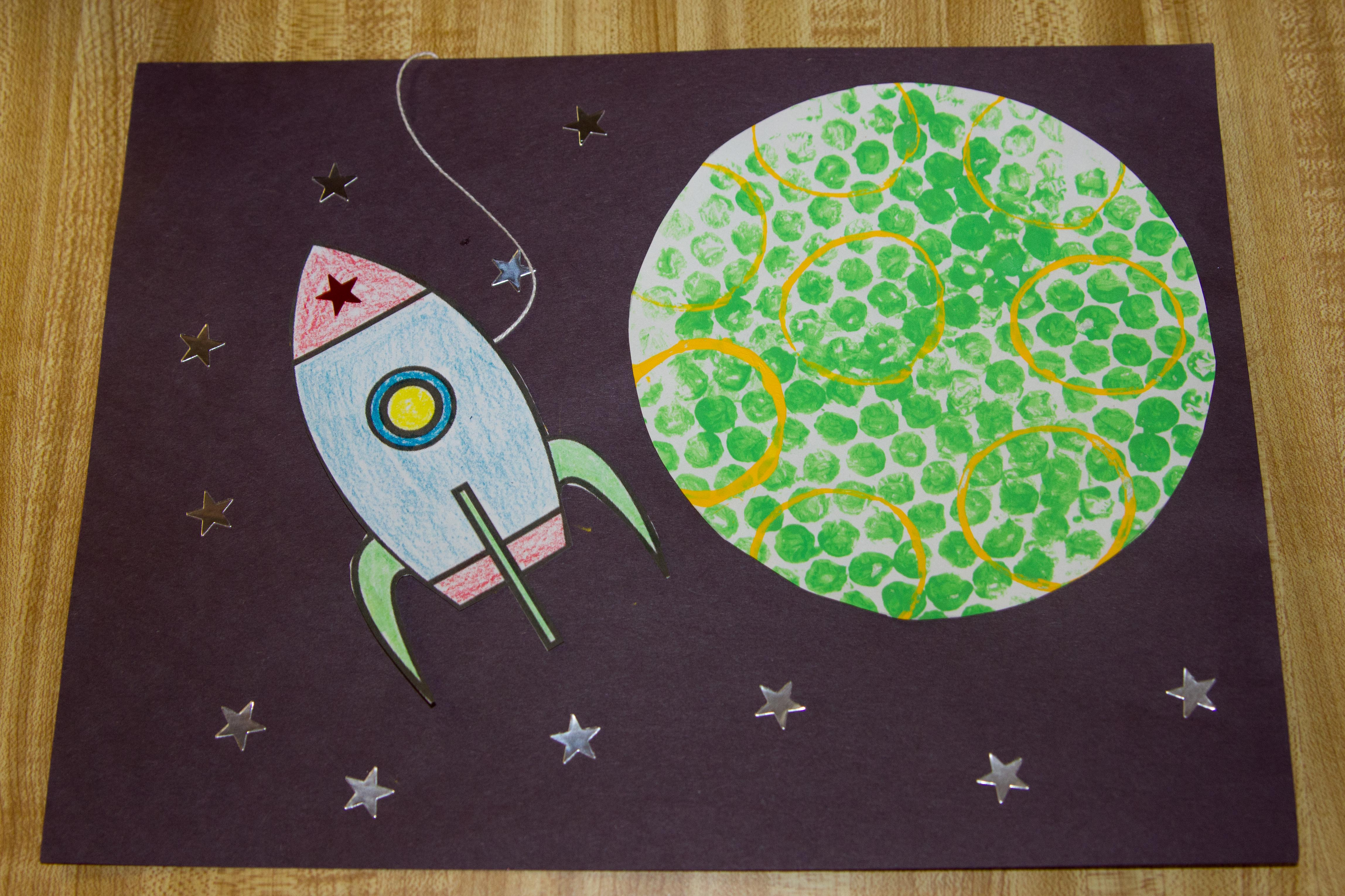 Space Crafts For Kids Outer Space Crafts Hand Me Down Ideas