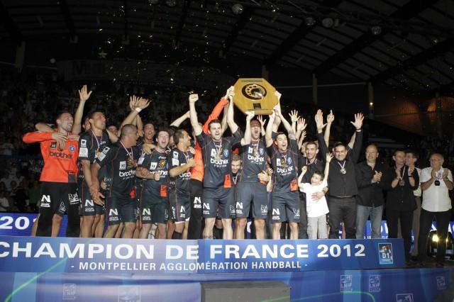 Montpellier Champion de France  - Saison 2011 2012
