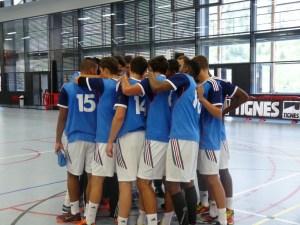 All bleus - France - Hongrie Jeune