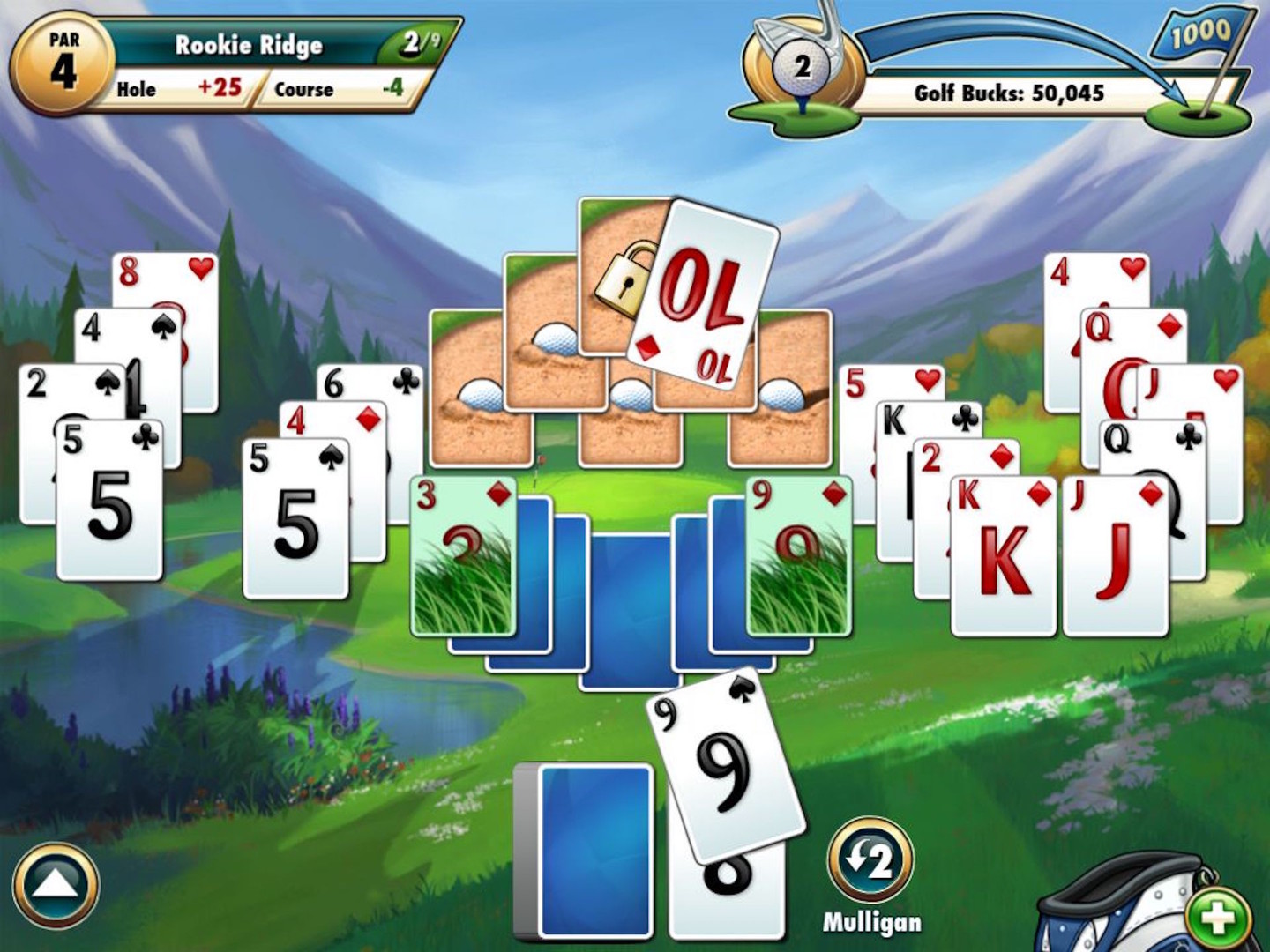 Online Card Games Fairway Solitaire Card Game By Big Fish Games Inc