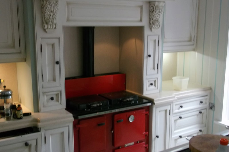 Cream Kitchen Island Unit Handpaint Furniture – Clive Christian Kitchen