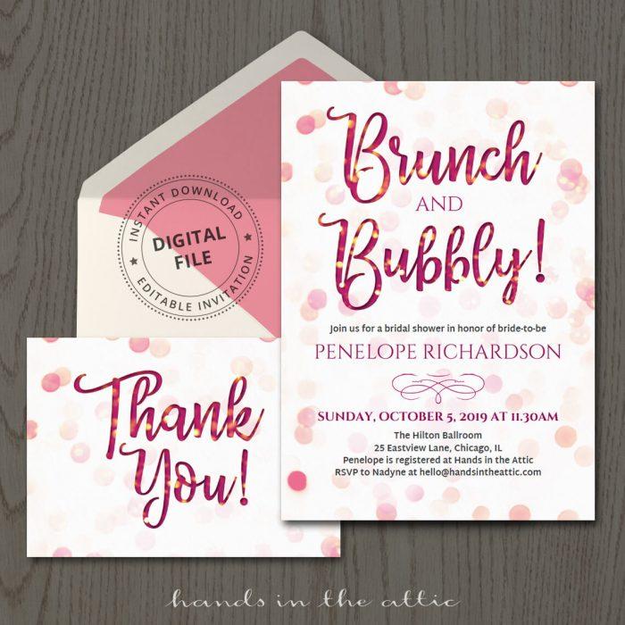 Invitation Templates Archives Printable Stationery Weddings - brides invitation templates