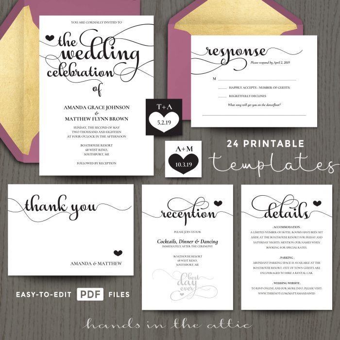 Invitation Templates Archives Printable Stationery Weddings - celebration invitations templates