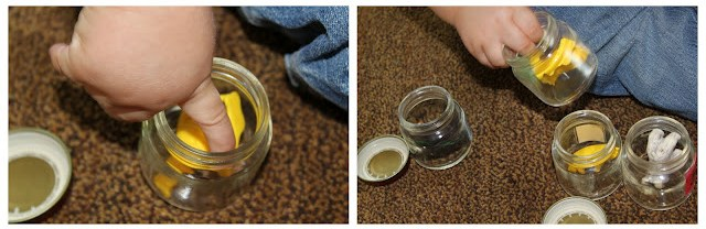 baby food jar activity