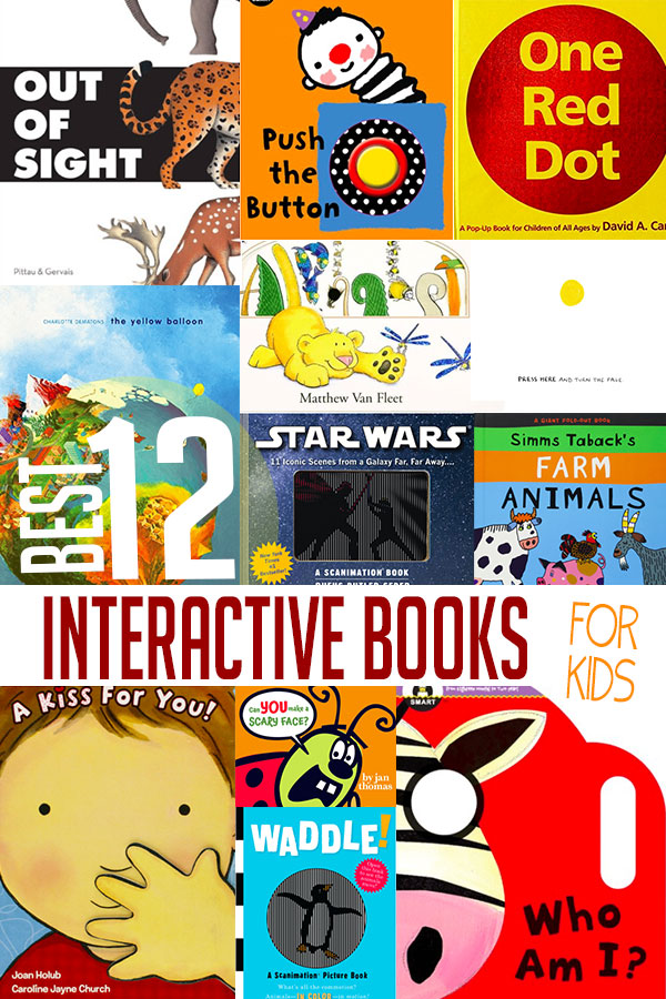 12 Best Interactive Books for Kids to Read Hands On As We Grow®