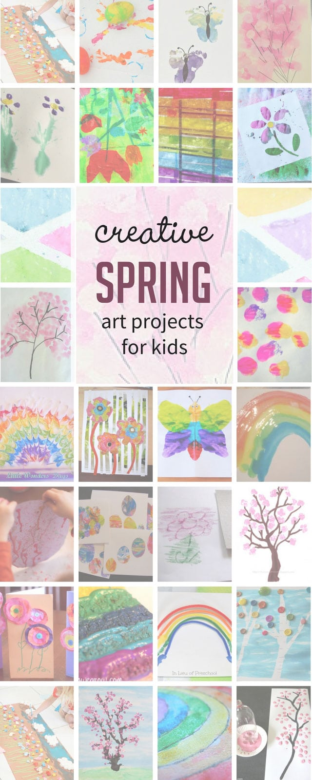 Art And Craft For Preschool 27 Colorful Spring Art Projects For Kids Hands On As We Grow