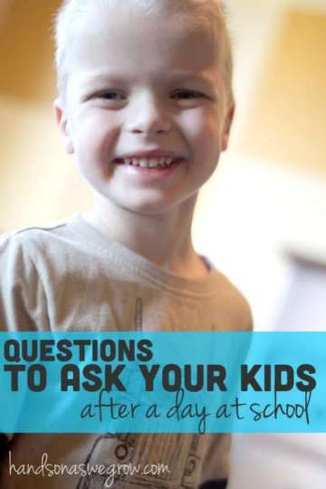 Talk About School with Your Kids: Questions to Ask