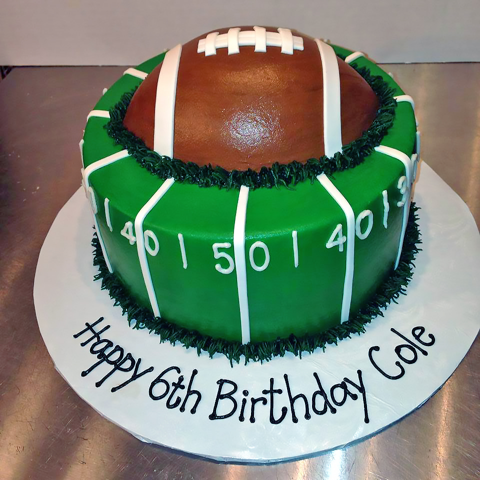 Football Kuchen Sports Cakes Hands On Design Cakes