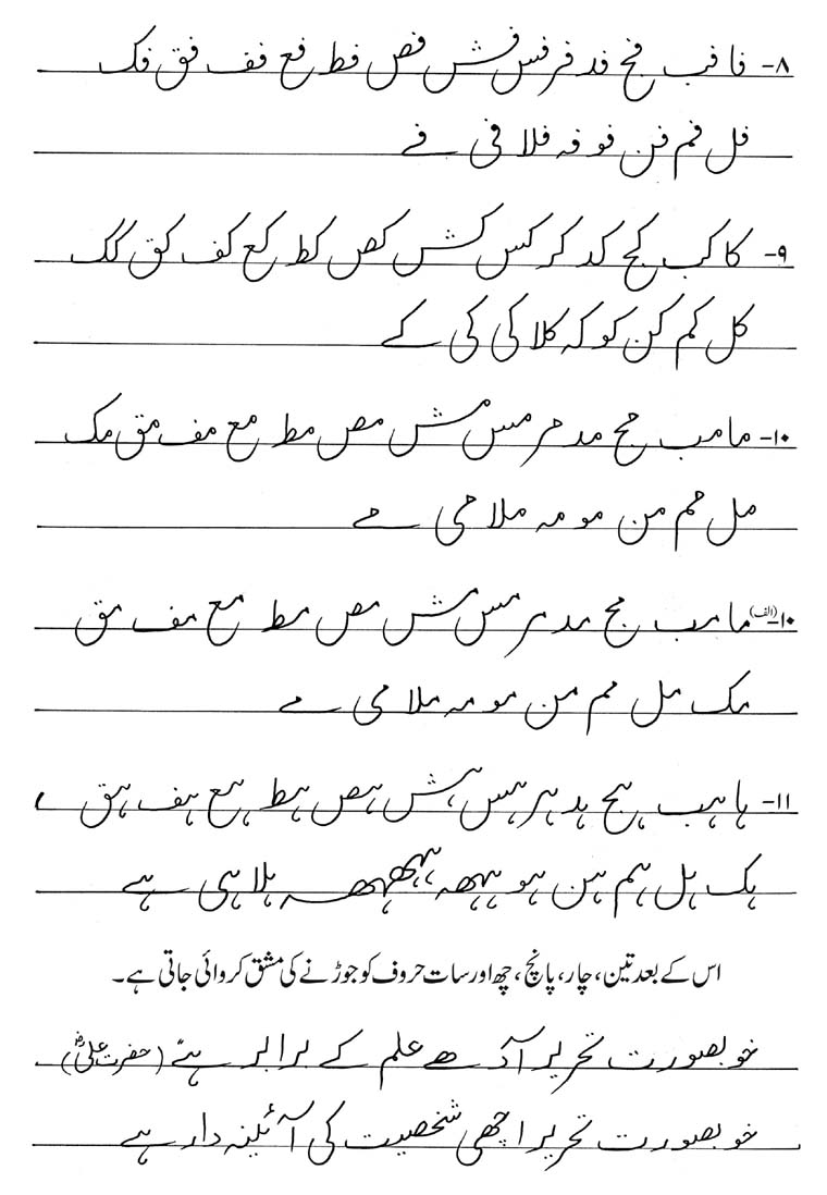 Calligraphy Fonts Books Pdf Urdu Handwriting Khattati Calligraphy In Pakistan