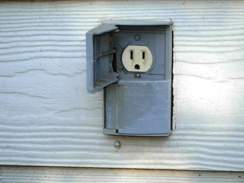Medium Of Outdoor Outlet Cover