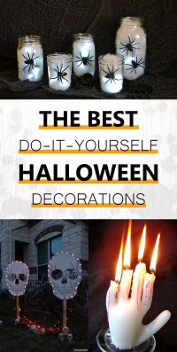The Best Do-It-Yourself Halloween Decorations