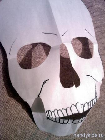 Как сделать маски своими руками из бумаги видео