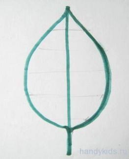 Симметричный лист