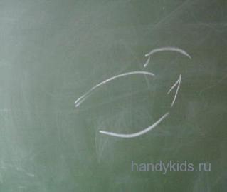 Этапы рисования птицы