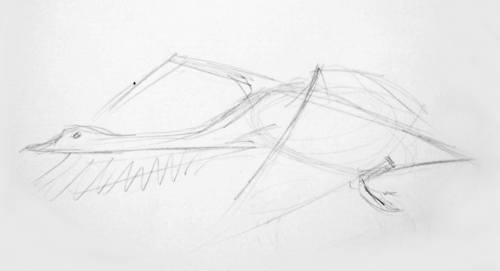 Нарисуем лебедя карандашом