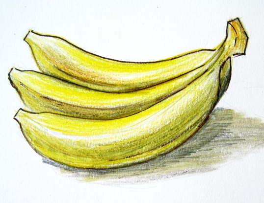 Рисунок бананы
