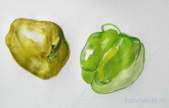 Рисуем перец