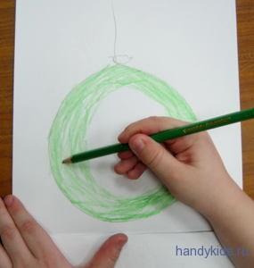 Как выполнять раскраску Шарик