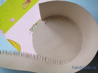 Круглая коробочка из картона с крышкой своими руками