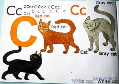 Работаем с раскраской Cat
