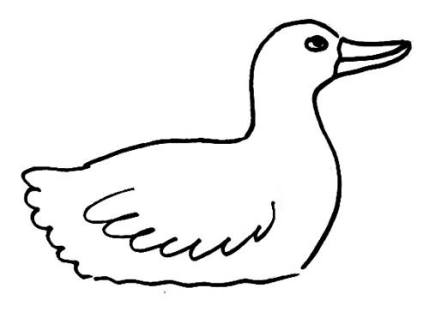 Mother Duck pattern