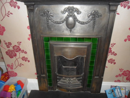Cast Iron Fireplace Restoration St Albans Old Fireplace