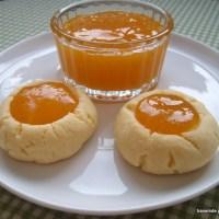 Marmelatlı kurabiye