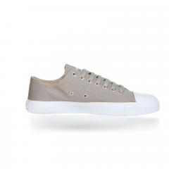Frozen Farbe Ethletic Sneaker Vegan Locut Collection 18 Farbe Frozen Olive White Aus Bio Baumwolle