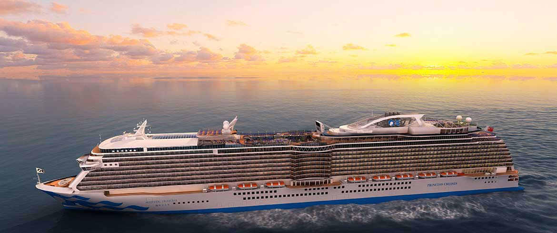 Μια «μεγαλοπρεπής πριγκίπισσα» αύριο στα Χανιά με 3.500 επιβάτες!