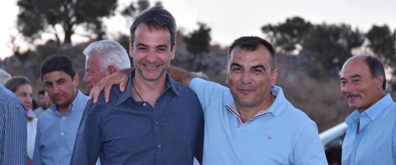 ΝΟΔΕ Χανίων ΝΔ | Νέος πρόεδρος ο Γ. Μαρκουλάκης μετά την παραίτηση Κελαϊδή