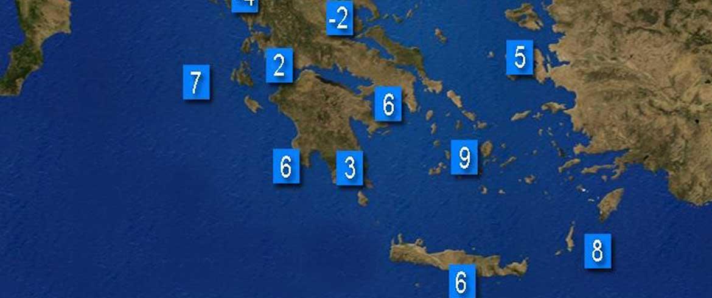 Καλλιάνος: Ερχεται... εξπρές κρύο και στην Κρήτη!