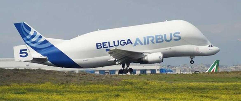 Στο Ελευθέριος Βενιζέλος το εντυπωσιακό Beluga Airbus (εικόνες & βίντεο)