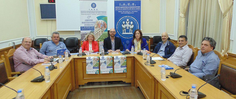 Στην Κρήτη το 4ο Διεθνές Επιστημονικό Συνέδριο του ΙΑΚΕ