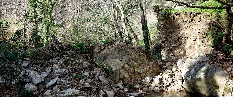 «Εδώ υπήρχε η ιστορική γέφυρα Κακοδικίου - Εχάθη από την αδιαφορία μας»...