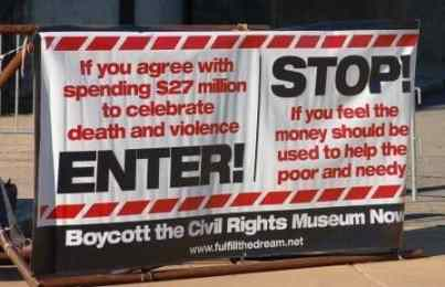 Boycott the National Civil Rights Museum?