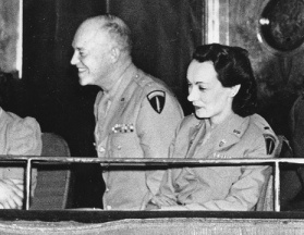 Kay Summersby and Dwight Eisenhower