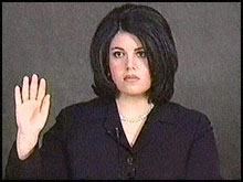 Monica-Lewinsky-vidotaped-deposition