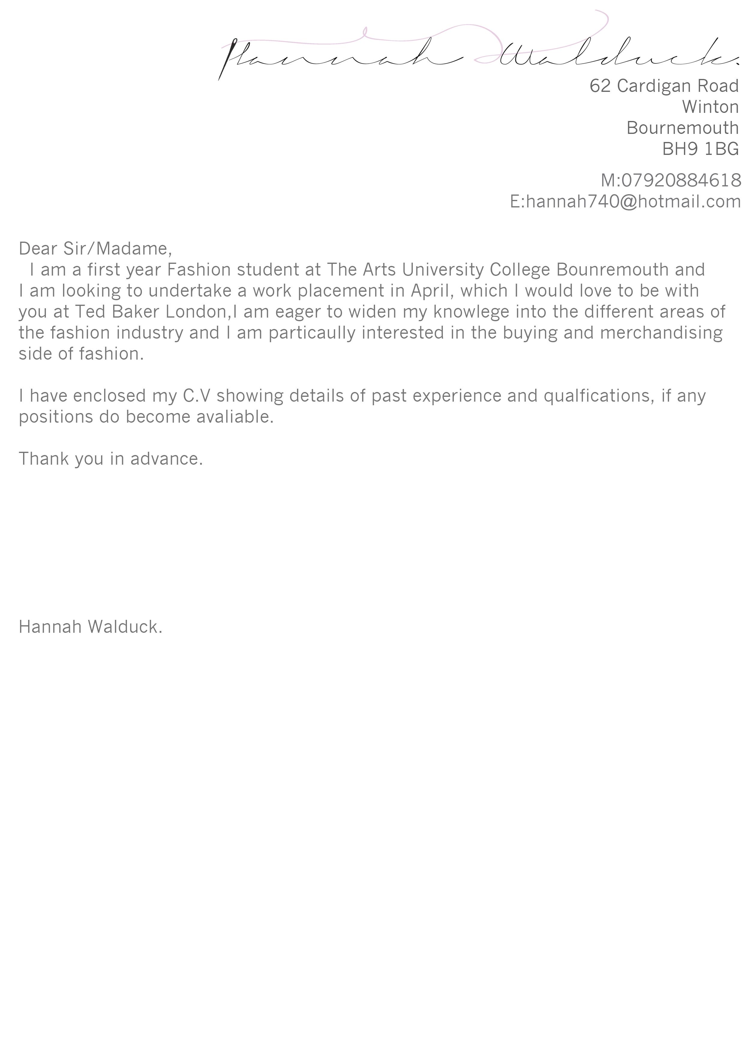 sample cv for applying to graduate school cv cover letter cover letter cv and cover letter cover letter fashion industry