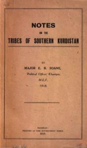 Notas sobre las tribus del sur de Kurdistán