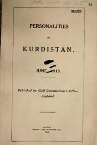 Personalidades de Kurdistan 1