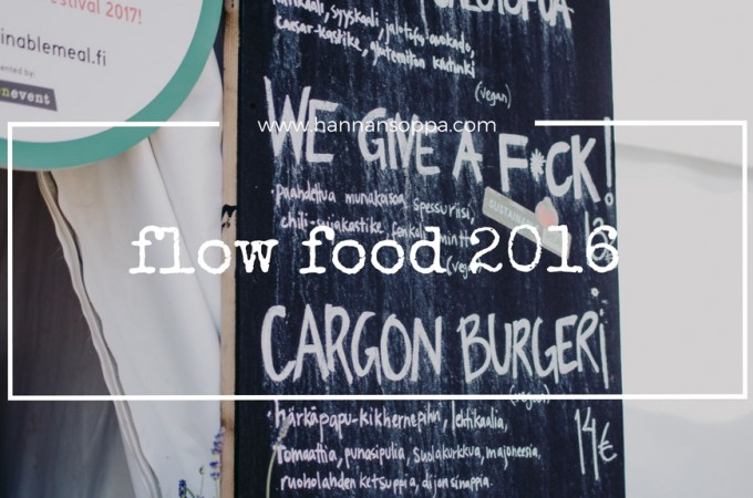 FLOW FOOD 2016 / Hannan soppa