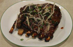 Korean Fusion Spicy Pork Ribs