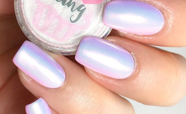 Unicorn Powder Nails Video Tutorial Hanninator