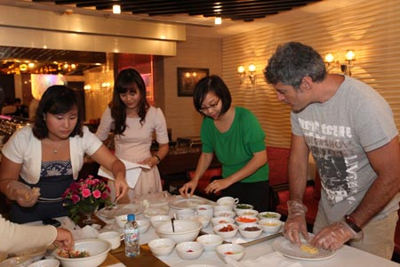 Silk Path Hotel - Cooking Class - Pizza making