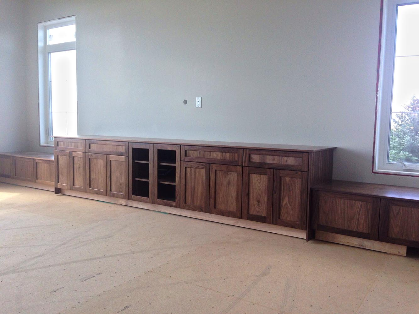 Entertainment Cabinets Hanover Cabinets Moose Jaw Regina Sask