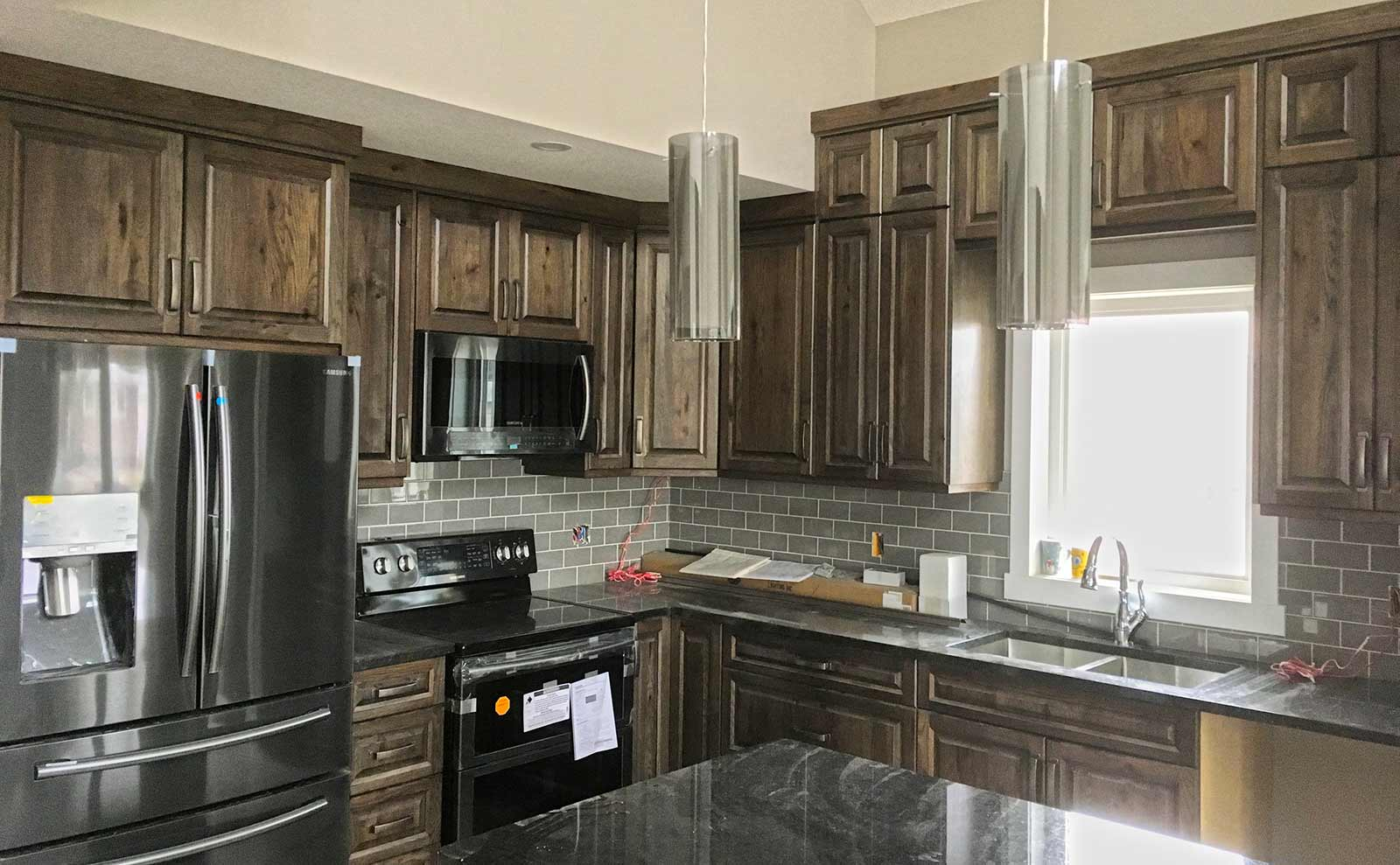 Natural Wood Kitchen Cabinets Hanover Cabinets